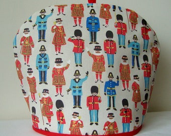 Cath Kidston Fabric Tea Cosy, Cosie, London Guards and Friends fabric