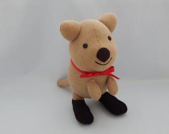 Quokka Plush Toy, Plushie, Stuffed Animal, Sock Monkey, Stuffed Toy