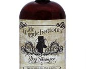 Mr. Wigglebottom's Dog Shampoo- Made with Organic Aloe and Essential Oils- Vegan base- 16oz. bottle