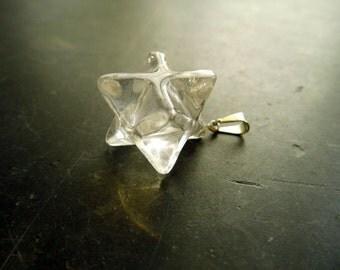 Trailers, Merkaba, Merkaba pendant, silver, esoteric, rock crystal