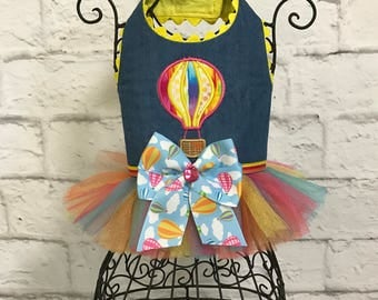 SPRING:  Hot Air Balloon Tulle Harness