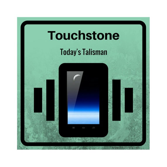Touchstone: Metal + Mineral, Earth + Air, join together in this Fragrance. A modern talisman we all carry, the Cell Phone as Perfume.