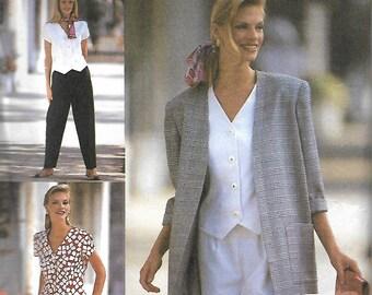 Simplicity 8239 American Classics Pants, Shorts, Top & Jacket Pattern, 18-22, UNCUT