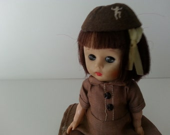 Brownie Scout Doll