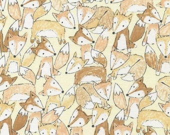 Fox Fabric - 1 Yard Cut - Timeless Treasures Fabric - Cotton Fabric - Quilting Fabric