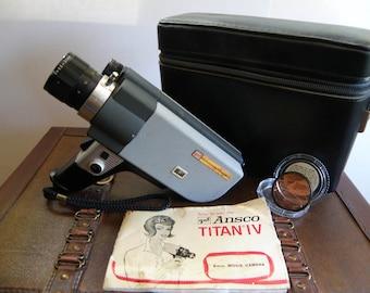 Ansco Titan IV 8MM Movie Camera