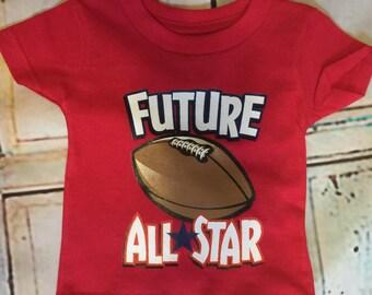 Future All Star infant/toddler football shirt