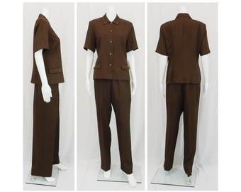 KARIN STEVENS Pantsuit Size 8