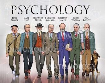 Large Men in Psychology Poster