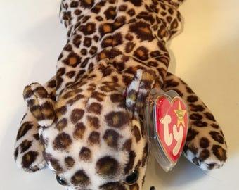 Freckles, Beanie Baby Leopard