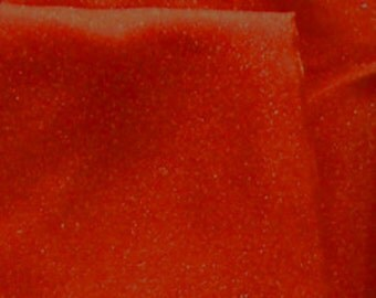 Twinkle Crepon Organza Burnt Orange 44 Inch Fabric by the Yard - 1 yard
