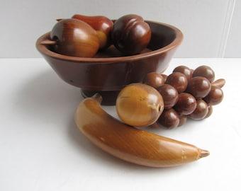 Mid Century Modern Wooden Fruit Bowl John Cowden Home Decor