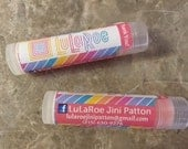 LuLaRoe. Lip Balm, 36 tubes, SALE. Chapstick, personalzed, labels, Consultant, Gifts, marketing, business cards