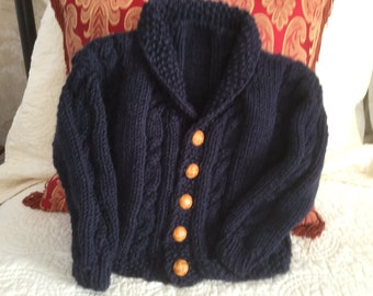 Baby Cabled Cardigan
