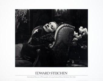 Edward Steichen-Marlene Dietrich-1987 Poster