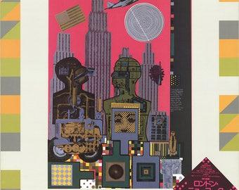 Eduardo Palozzi-As is When-1981 Poster