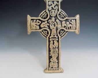 True Celtic Cross Christian Biblical Scriptural Religious Spiritual Teacher Minister Gift Baptism Confirmation