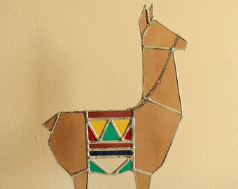Brown Llama sculpture