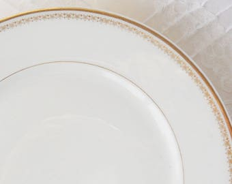 Vintage French Limoge Salad/Dessert Plates Set of 4, Wedding Decor