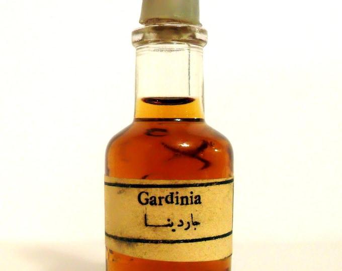 RARE Antique 1920s Gardinia by Chabrawichi Egyptian Pure Parfum Extract Perfume Bottle