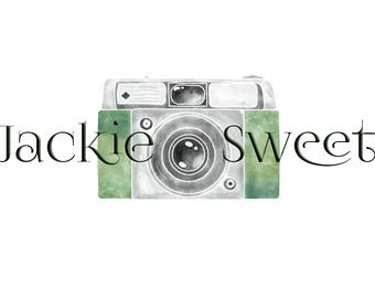 Camera Logo Watermark Name Personalized Small Business