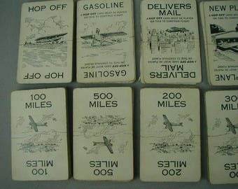 """Vintage """"Lindy"""", Card Game, Full Set, With Directions, Made by Parker Brothers, 1927's Children's Game, Rare Card Game"""