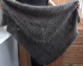 Orenburg warm shawls , hand - knitting shawl