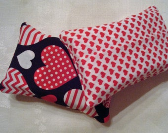 Two Valentine Purse Size Tissue Cases