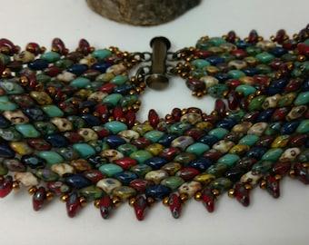 Multi-color Woven Bracelet