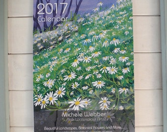 Michele Webber Watercolour artist 2017 Fine Art Calendar