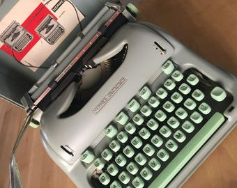 Hermes 3000 Mint Green Typewriter