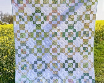 Jelly Rings Quilt – Throw