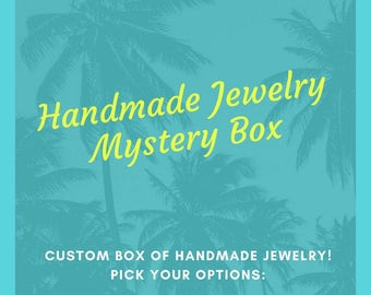 Mystery Jewelry Box - Themed Mystery Box - Surprise Jewelry Box - Grab Bag - Subscription Box