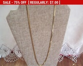 vintage chain necklace, goldtone chain, vintage chain, gold tone chain, fashion chain