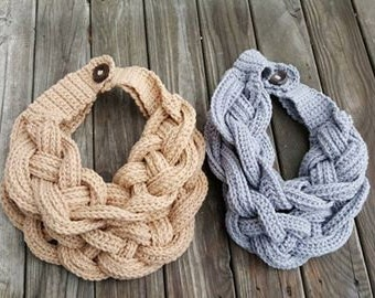 Braided Cowl Any Color