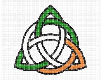 Needlepoint Kit or Canvas: Celtic Knot