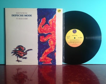 Depeche Mode It's Called A Heart 12 Inch Maxi Single Vinyl Record 1985 Synthpop New Wave Dark Wave Punk Rock Near Mint Condition Vintage