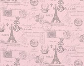 SALE TODAY! Curtains, Designer Curtain Panels 24W or 50W x 63, 84, 90, 96 or 108L French Stamp Bella Pink Storm Grey shown, MORE Colors