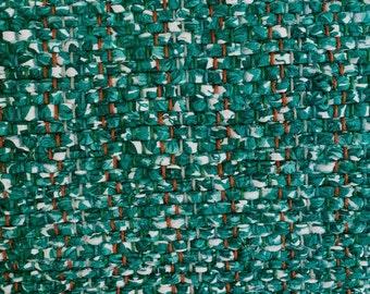 "Hand Woven Rag Rug - Ivy Green Cotton Runner 22"" x 58"""