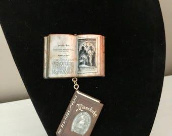Book Brooch