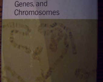 Heredity Genes and Chromosomes by Alex Fraser 1966/ Hardcover Book/ University of California