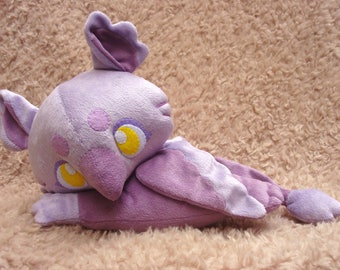 Made-to-Order Lavender Baby Griffin Plush Doll