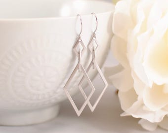 The Martina Earrings - Silver