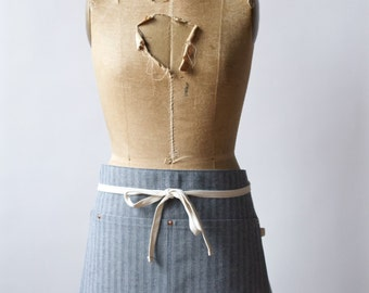 Herringbone Half Apron - Made in U.S.A.