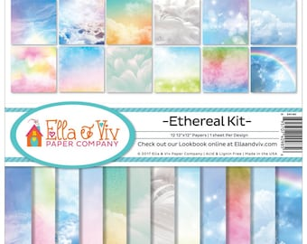 ETHEREAL COLLECTION by Ella & Viv  -12x12   - In stock Now !