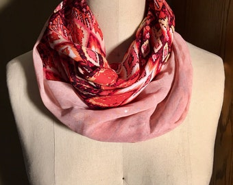 Silky Double-sided Infinity Scarf