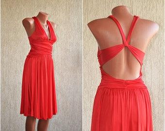 Vintage Dress, size S / 32 - 34 /