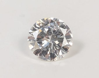 Classic Traditional 0.85ct Round Brilliant Natural Untreated Not Enhanced SI2 Clarity I Color Loose Diamond Solitaire FREE SHIPPING!