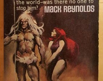 Earth Unaware/Earth Unaware by Mack Reynolds/Of Godlike Power/Belmont Book 1968/ Sci Fi Paperback