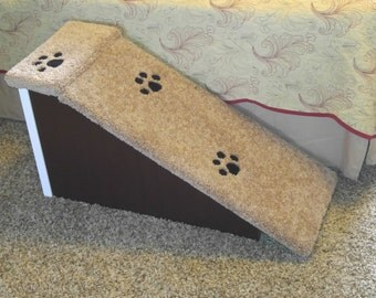 Dog-Pet-Cat Ramp, Perfect for Small Dogs, Doxie Dogs, Long Bodied Dogs, Senior Dogs, Ramps Inspired by Dogs, Handmade in USA, Dog-Pet Stairs